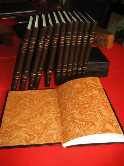 Custom Leather Bound Books Blogs Dissertations Albums